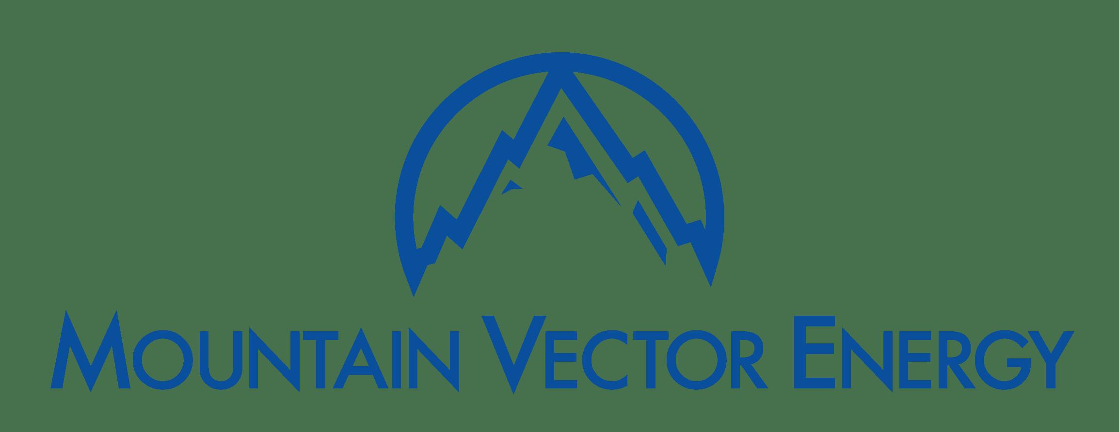 Logo for Mountain Vector Energy a real time energy data company